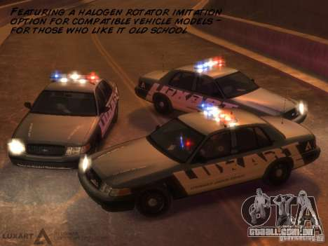 EMERGENCY LIGHTING SYSTEM V6 para GTA 4 sétima tela