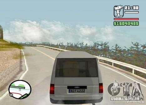 Ford Transit 1999 para GTA San Andreas esquerda vista