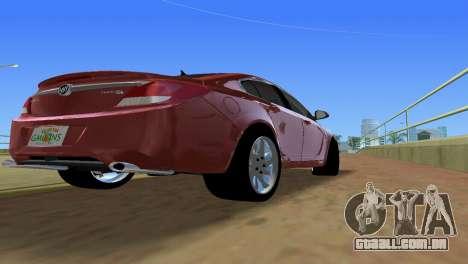 Buick Regal para GTA Vice City vista traseira