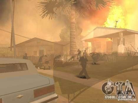 Terremoto para GTA San Andreas terceira tela