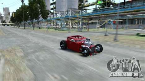 Smith 34 Hot-Rod Restyling para GTA 4 traseira esquerda vista