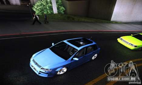 Fiat Stilo Abarth 2005 para GTA San Andreas vista traseira