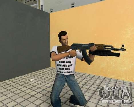 AK-47 com um М203 de lançador de Granada para GTA Vice City