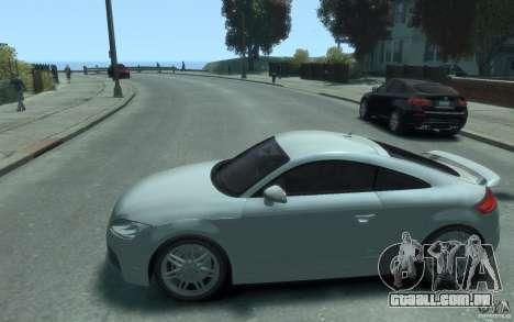 Audi TT-RS para GTA 4 esquerda vista