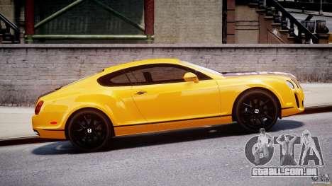 Bentley Continental SS 2010 ASI Gold [EPM] para GTA 4 esquerda vista