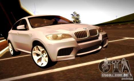 BMW X6M para vista lateral GTA San Andreas