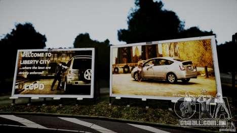 Realistic Airport Billboard para GTA 4 terceira tela