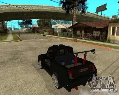 VAZ 2104 volk para GTA San Andreas esquerda vista