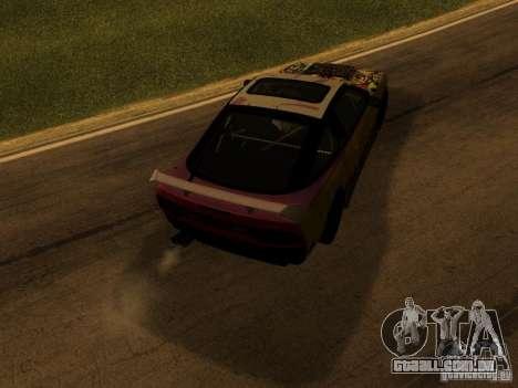 Nissan 240sx Street Drift para GTA San Andreas vista direita