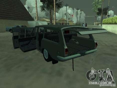 GAZ 24-12 para GTA San Andreas vista direita