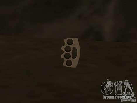 Weapon Pack para GTA San Andreas twelth tela