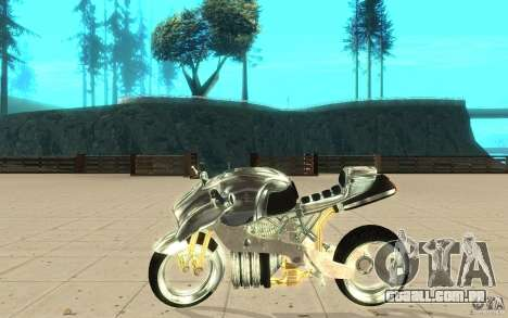 New NRG Chrome version para GTA San Andreas esquerda vista