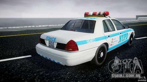 Ford Crown Victoria 2003 v.2 Police para GTA 4 vista lateral