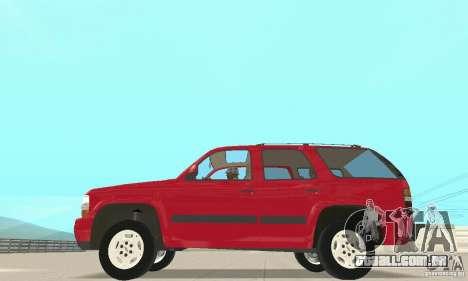 Chevrolet Tahoe 1992 para GTA San Andreas