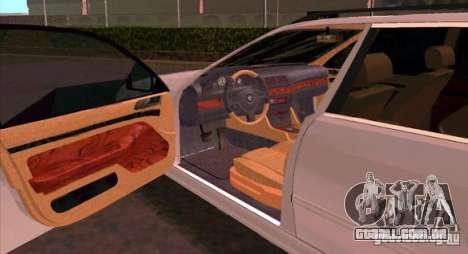 BMW 525 Touring V2 para GTA San Andreas vista direita