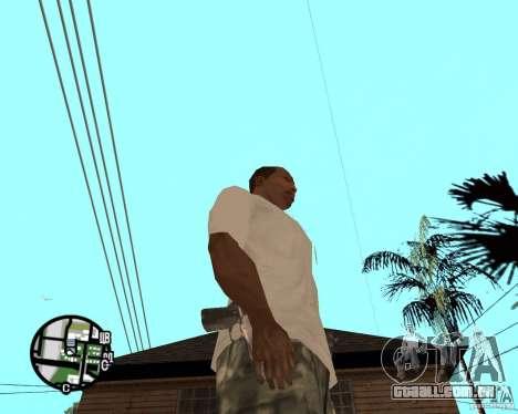 Mãos normais CJâ para GTA San Andreas segunda tela