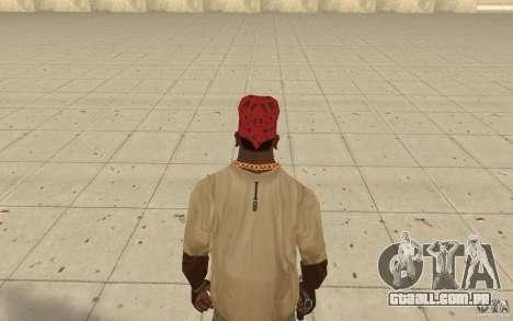 Bandana vermelha Maryshuana para GTA San Andreas terceira tela