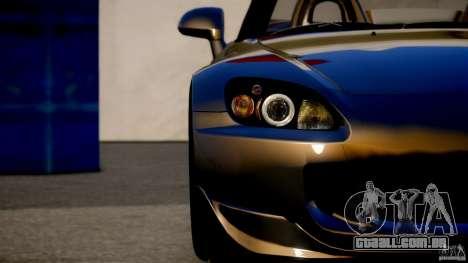 Honda S2000 para GTA 4 traseira esquerda vista