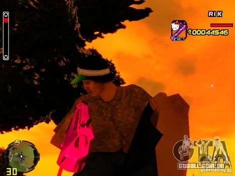 Hello Kitty weapon para GTA San Andreas segunda tela