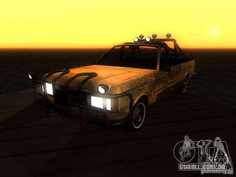 Regina War para GTA San Andreas vista traseira