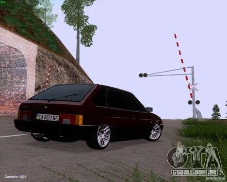 VAZ 2109 para o motor de GTA San Andreas