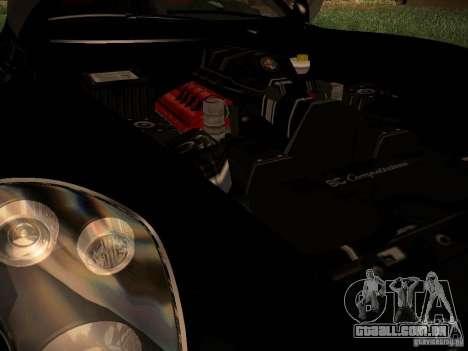 Alfa Romeo 8C Spider 2012 para GTA San Andreas vista direita