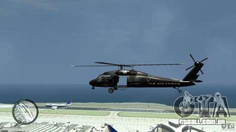 U.S. Air Force (annihilator) para GTA 4 esquerda vista