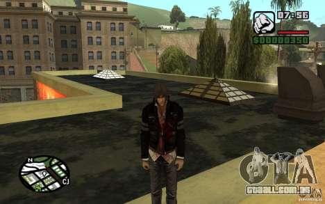 Alex Mercer v2.0 para GTA San Andreas segunda tela