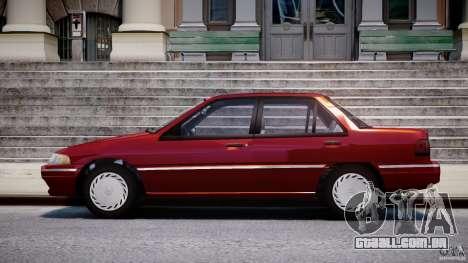 Mercury Tracer 1993 v1.0 para GTA 4 esquerda vista