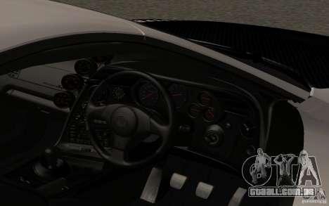 Toyota Supra RZ 1998 para GTA San Andreas vista direita