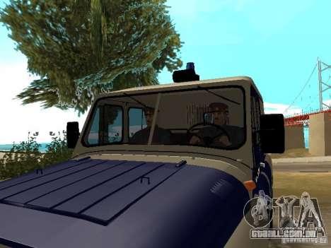 Polícia da URSS para GTA San Andreas terceira tela