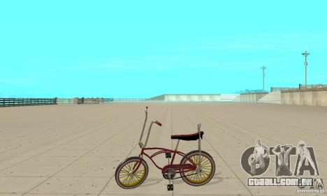 CUSTOM BIKES BIKE para GTA San Andreas esquerda vista