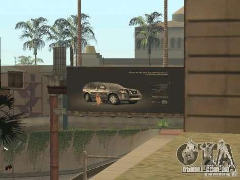 O novo velopark em LS para GTA San Andreas quinto tela