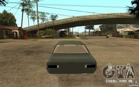 Chevrolet Cheville para GTA San Andreas traseira esquerda vista