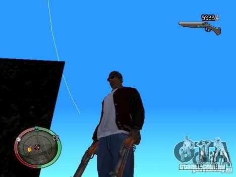 Alterar o estilo de corte e Usi para GTA San Andreas segunda tela