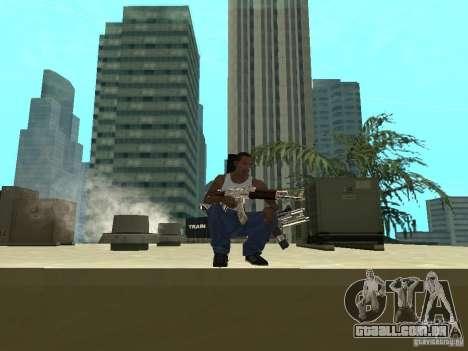 Weapons Pack para GTA San Andreas sétima tela