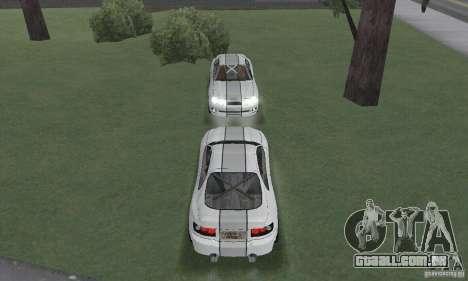 Toyota Celica GT4 2000 para GTA San Andreas vista interior