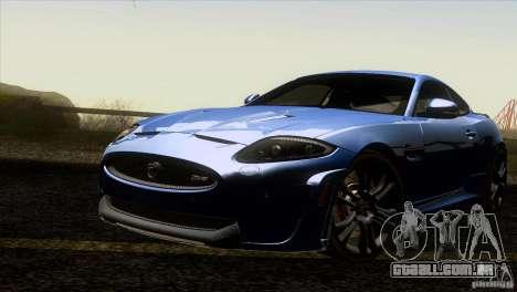 Jaguar XKR-S 2011 V1.0 para GTA San Andreas vista inferior