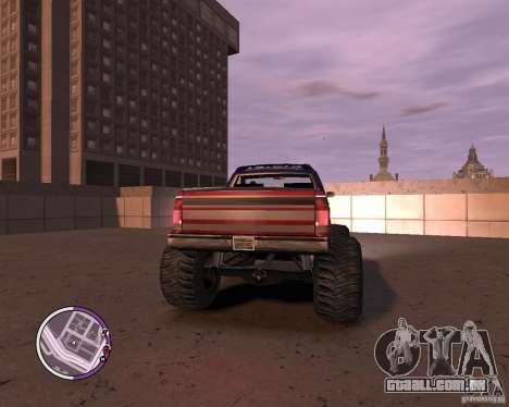 Monster from San Andreas para GTA 4 vista interior
