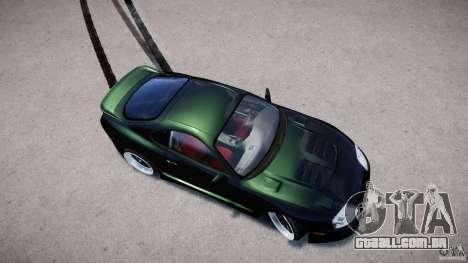 Toyota Supra JZA80 para GTA 4 vista interior