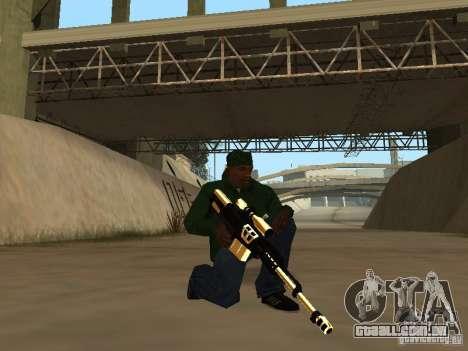 Armas de ouro de Pak para GTA San Andreas segunda tela