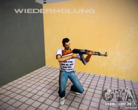 AK-47 para GTA Vice City segunda tela