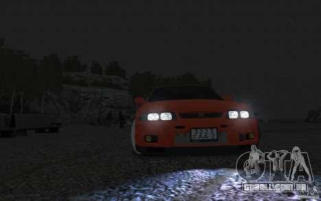Nissan Skyline para GTA 4 traseira esquerda vista