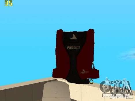 Saltar de paraquedas de TBOGT v2 para GTA San Andreas por diante tela