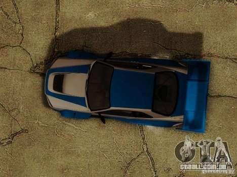 Nissan Skyline GTR34 DTM para vista lateral GTA San Andreas