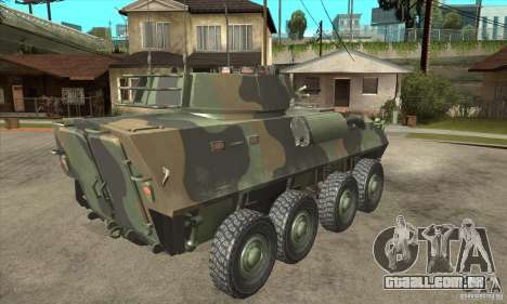 LAV-25 para GTA San Andreas vista direita