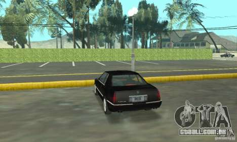 Cadillac Eldorado 1996 para GTA San Andreas esquerda vista