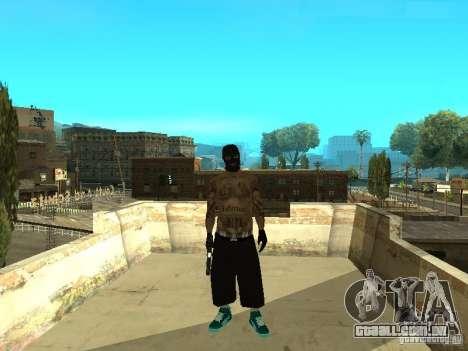 Varrios Los Aztecas Gang Skins para GTA San Andreas segunda tela