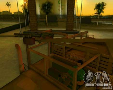 M352A para GTA Vice City vista interior