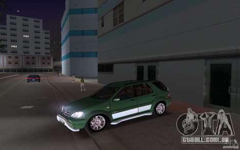Mercedes-Benz ML55 Demec para GTA Vice City vista traseira esquerda